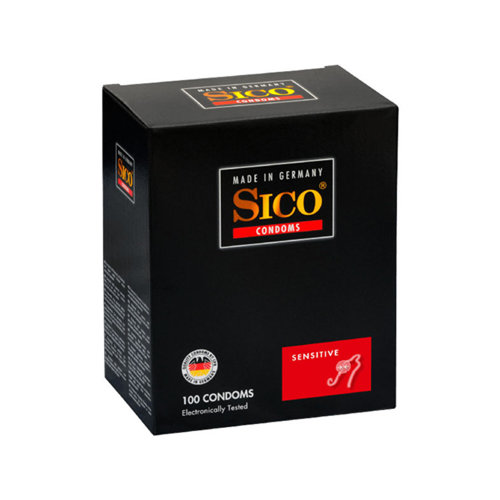 Sico Sico Sensitive Condoms - 100 Kondome