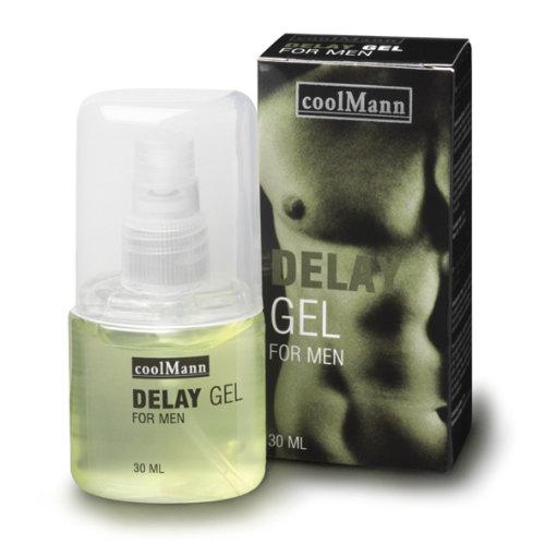 Coolmann Coolman Delay Gel - Aktverlängerung / Verzögerung 30ml