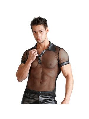 Svenjoyment Underwear Herren Wetlook Shirt schwarz