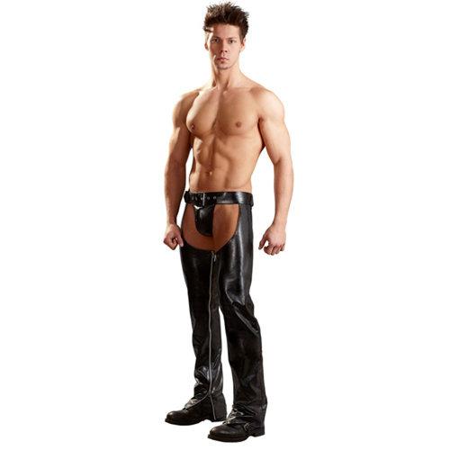 Svenjoyment Underwear Chaps aus Kunstleder