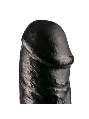 All Black Realistischer Dildo 29 cm - Schwarz