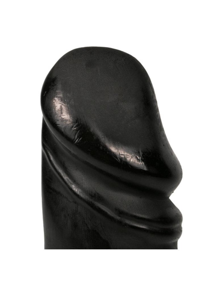 All Black All Black realistischer Dildo 22 cm - Schwarz