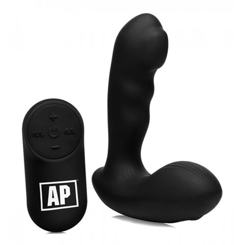 Alpha-Pro P-Milker Prostatastimulator mit melkenden Perlen