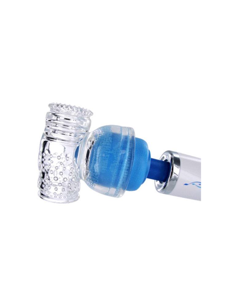 Wand Essentials Aufsatz Masturbator für Wand Vibrator