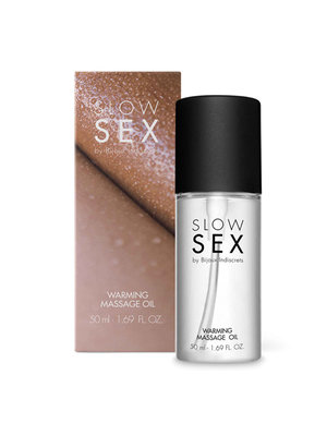 Slow Sex Wärmendes Massageöl - 50 ml