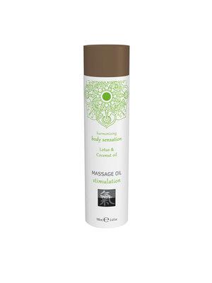 Shiatsu Massageöl Stimulation - Lotus und Kokosnuss
