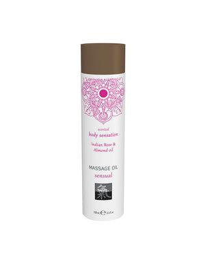 Shiatsu Massageöl Sinnlich - Indische Rose und Mandel