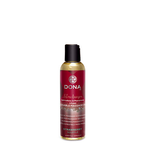 Dona-by-Jo Dona Kissable Massageöl Erdbeere