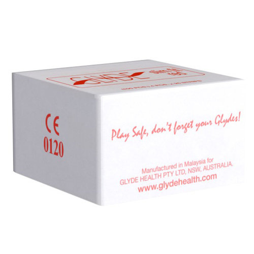 GLYDE Glyde Ultra Slimfit Rot - 100 Kondome