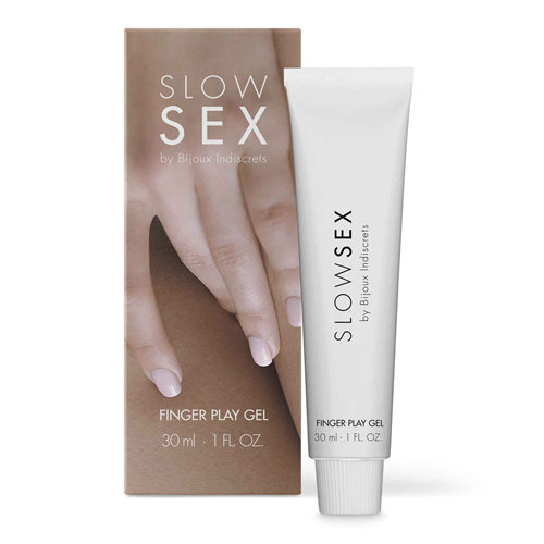 Slow Sex Fingerspiel Gel - 30 ml