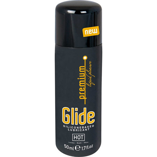 HOT Premium Glide Silikon Gleitgel - 50 ml