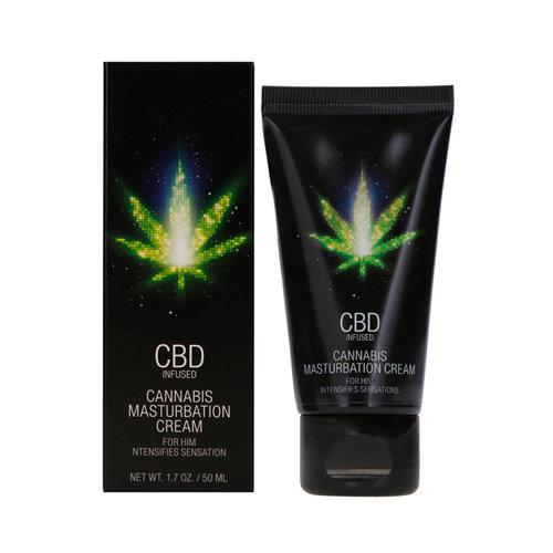 Pharmquests CBD Cannabis Masturbation Cream für Ihn - 50 ml