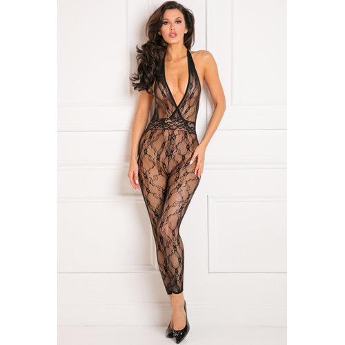 Rene Rofe Lacy Movie Bodystocking Übergröße