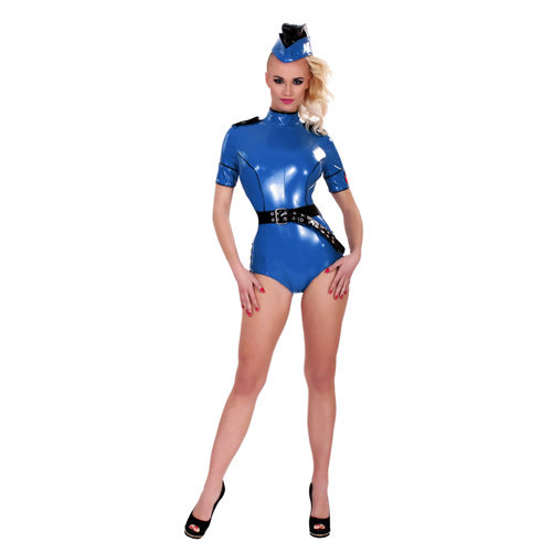 Guilty Pleasure GP Datex Sexy Polizeiuniform Blau