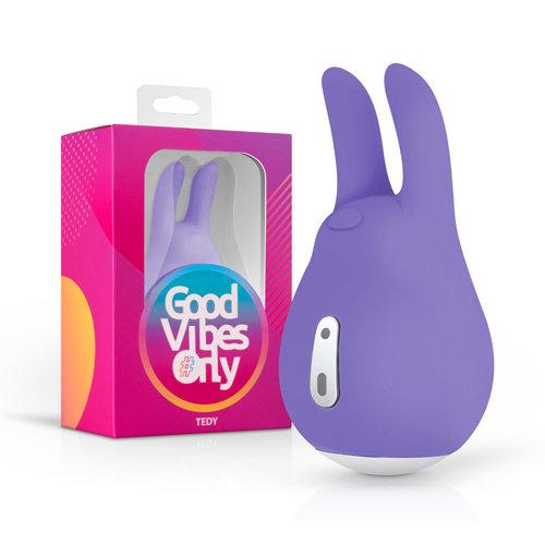 Good Vibes Only Tedy Klitorisstimulator