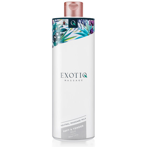 Exotiq Exotiq Soft & Tender Massagemilch - 500 ml