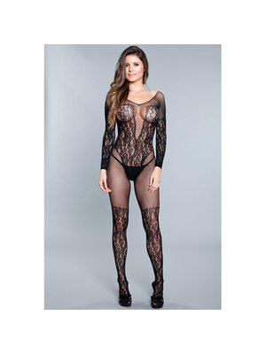 Be Wicked Luv Me Right Bodystocking