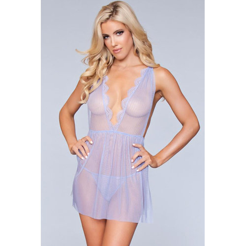 Be Wicked Sweet Dreams Babydoll - Lavendel
