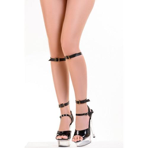 HEL Kayla - PU-Lederstrumpfbänder