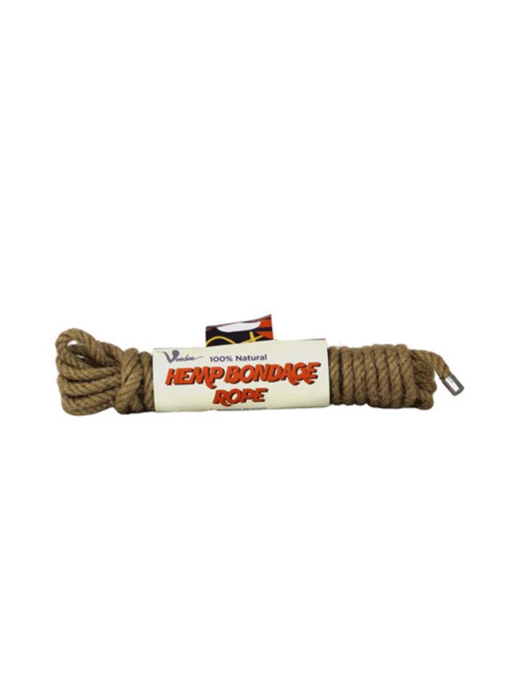 Voodoo 100 % Natürliches Bondage-Hanfseil - 5 Meter