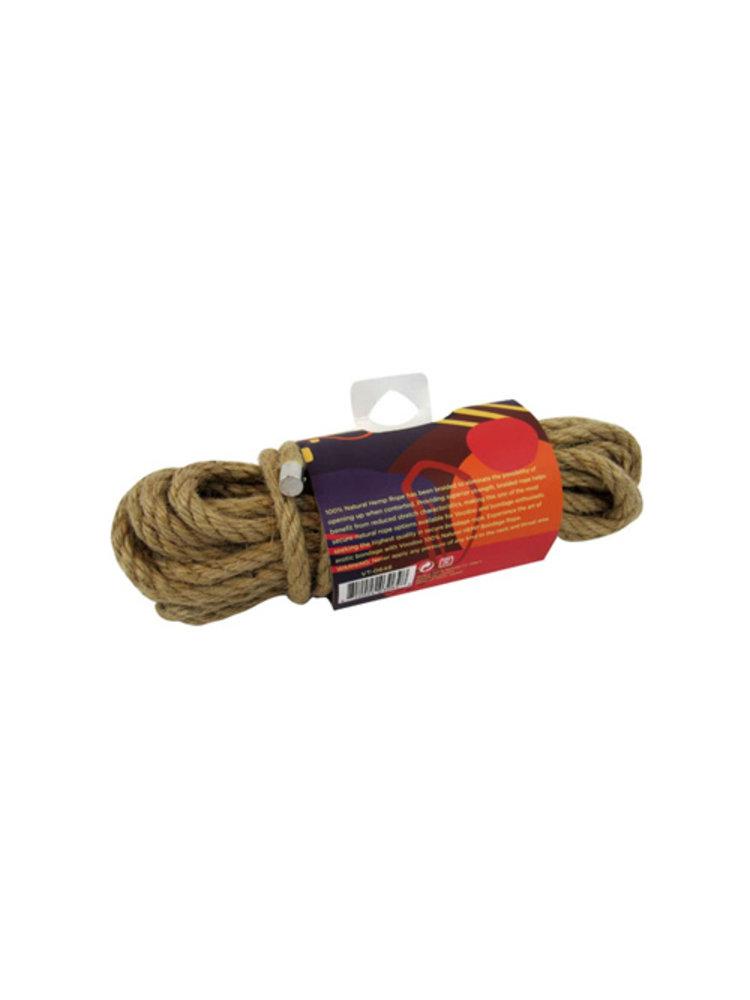 Voodoo 100 % Natürliches Bondage-Hanfseil - 10 Meter