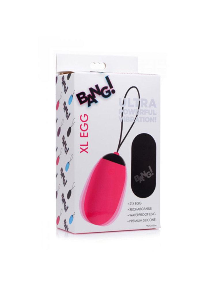 Bang! Bang! XL Vibro-Ei - Rosa