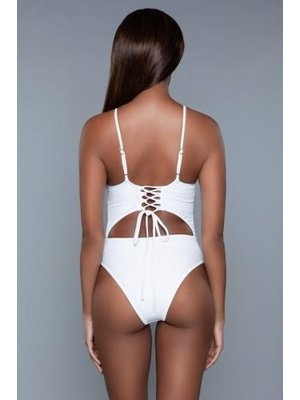 Be Wicked Swimwear Alina Monokini - Weiß
