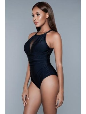 Be Wicked Swimwear Briella Badeanzug - Schwarz