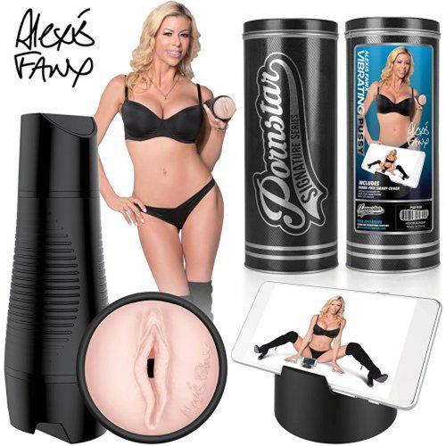 Pornstar Signature Series Pornstar Series - Alexis Fawx aufladbare vibrierende Vagina