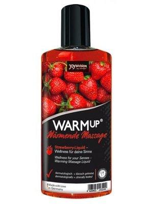 Joydivision Aufwärmendes Massageöl - Erdbeere