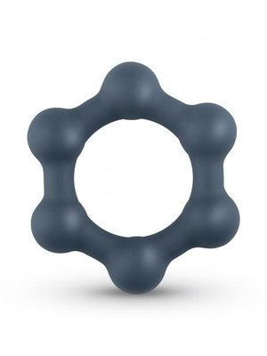Boners Hexagon Penisring mit Stahlkugeln