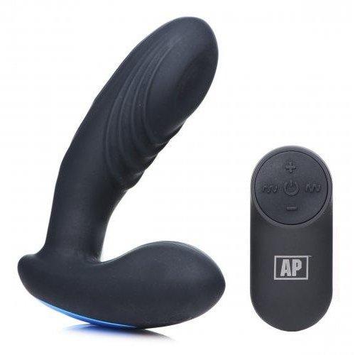Alpha-Pro P-Thump Prostatavibrator mit Fernbedienung