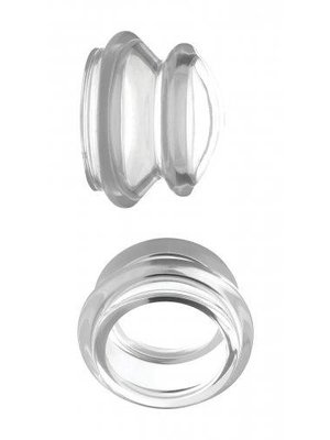 Master Series Clear Plungers Nippelsauger - Groß