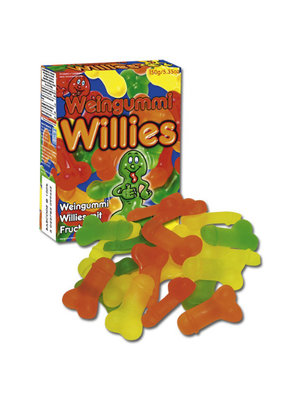 You2Toys Jelly Willies Fruchtgummies in Penisform 150 g