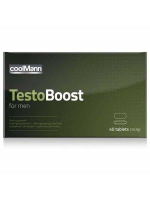 Coolmann CoolMann Testoboost - 40 Tabletten