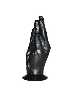All Black Hand Schwarz