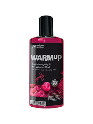 Joydivision WARMup Himbeer Massageöl - 150 ml