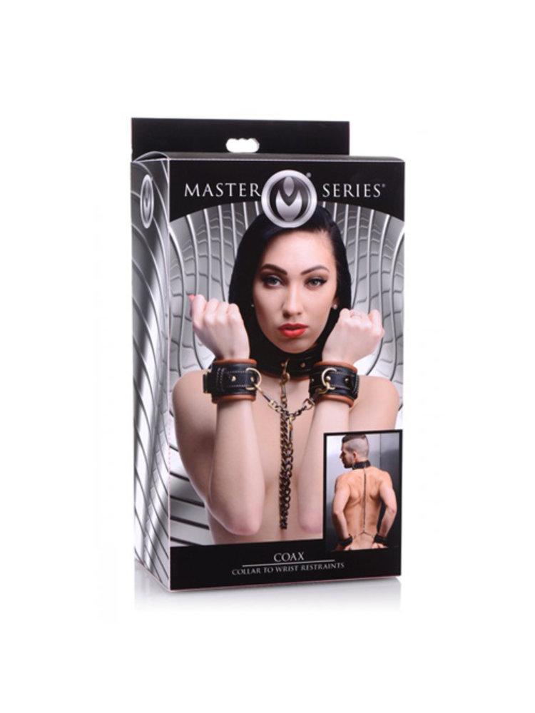 Master Series Coax Kragen zur Handfessel