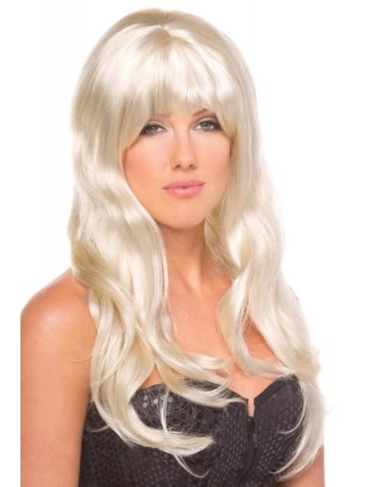 Be Wicked Wigs Burlesque-Perücke - Blond