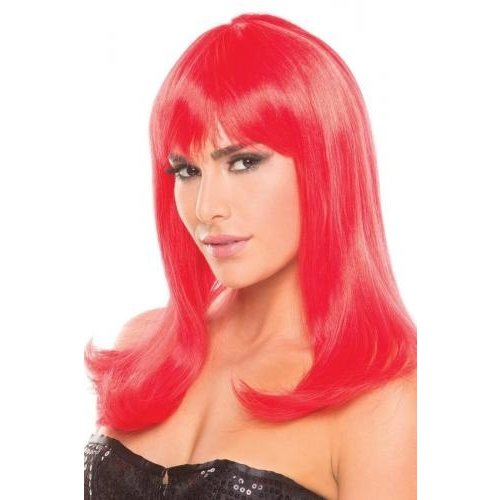 Be Wicked Wigs Hollywood-Perücke - Rot