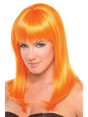 Be Wicked Wigs Hollywood-Perücke - Orange