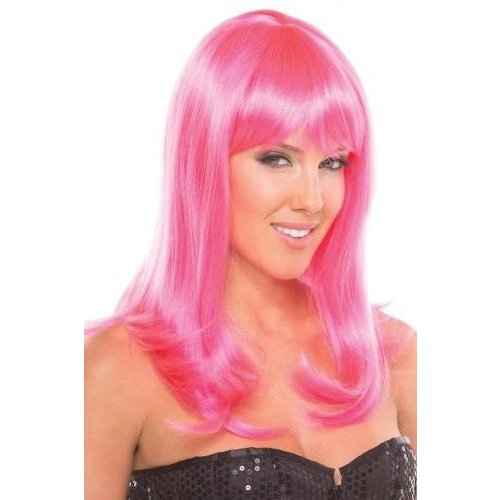 Be Wicked Wigs Hollywood-Perücke - Rosa