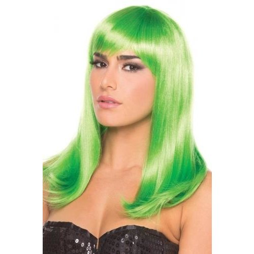Be Wicked Wigs Hollywood-Perücke - Grün