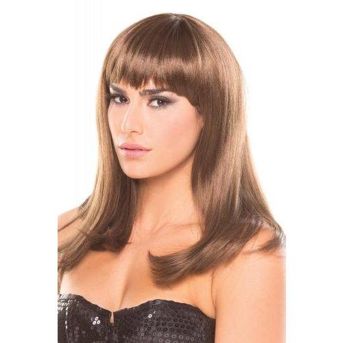 Be Wicked Wigs Hollywood-Perücke - Braun