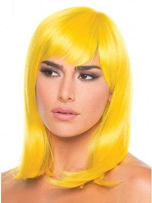 Be Wicked Wigs Puppenperücke - Gelb