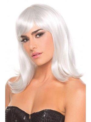 Be Wicked Wigs Puppenperücke - Weiß