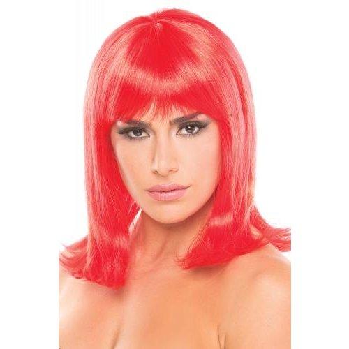 Be Wicked Wigs Puppenperücke - Rot