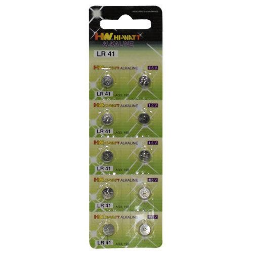 You2Toys Knopfzellbatterien 10er Blister LR41