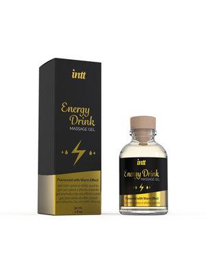 INTT Energy Drink Warming Massage Gel
