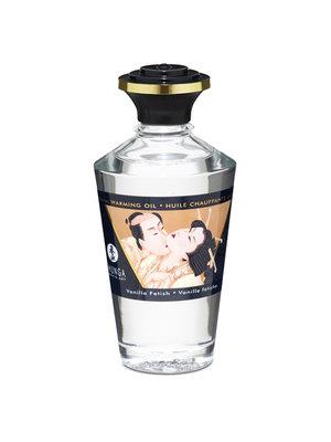 Shunga Aphrodisiac Warming Massage Oil - Vanilla Fetish - 100 ml